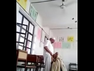 School Headmaster doing sex with his Young Female Teacher