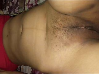 Saving Indian Wife Hairy Pussy With Razor